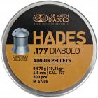 Пули пневм JSB Diabolo Hades, 4,5 мм ,0.670 гр, 500 шт/уп - изображение 1