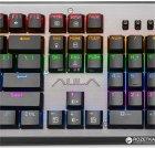 Клавиатура проводная Aula Assault Mechanical USB Metallic (6948391239309) - изображение 5