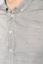 Рубашка классическая светлая Time of Style 333F013 XXXL Серый - изображение 4