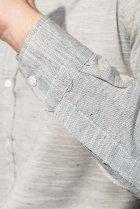 Рубашка классическая светлая Time of Style 333F013 XXXL Серый - изображение 6