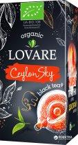 Чай черный пакетированный органический Lovare CeylonSky 24 x 1.5 г (4820198872328) - изображение 1