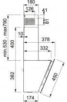 Вытяжка FRANKE FPJ 605 V BK/BG - изображение 3
