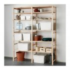 Коробка з кришкою IKEA SOCKERBIT 38x51x30 см біла 803.160.67 - зображення 5