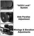 Оптичний приціл Barska Tactical 6-20x50 мм FFP (IR Mil-Dot) + кільця (925763) - зображення 6