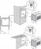 Духовой шкаф электрический Brandt BXP6555B - изображение 4