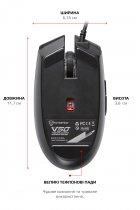 Мышь Motospeed V50 RGB USB Black (mtv50) - изображение 7