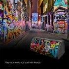 Портативна акустична система Mifa A10 Black Graffiti - зображення 6