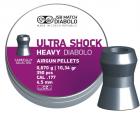 Кулі пневм JSB Heavy Ultra Shock, 4,5 мм , 0,67 г, 350 шт/уп - зображення 1