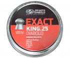 Пули пневм JSB Exact King 6,35 mm 1,645 гр. (350 шт/уп) - изображение 1