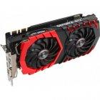 Видеокарта Msi Geforce Pci-Ex Gtx 1080 Ti Gaming 11Gb 352Bit Gddr5X (1493/11016) (Dvi, 2 X Hdmi, 2 X Displayport) (Gtx 1080 Ti Gaming 11G) - изображение 2