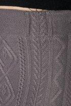 Спідниця з комбированной в'язкої Time of Style 131V002 XS-S Сірий - зображення 4