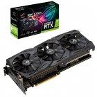 Asus PCI-Ex GeForce RTX 2060 ROG Strix A6G Gaming Advanced Edition 6GB GDDR6 (192bit) (1710/14000) (2 x DisplayPort, 2 x HDMI 2.0b) (ROG-STRIX-RTX2060-A6G-GAMING) - зображення 5