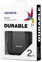 "Жесткий диск ADATA Durable HD330 2TB AHD330-2TU31-CBK 2.5"" USB 3.1 External Black - изображение 4"