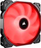 Кулер Corsair AF140 LED 2018 Red (CO-9050086-WW) - зображення 1