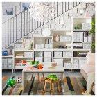 Контейнер для зберігання IKEA FJÄLLA 25x36x20 см білий 603.956.83 - зображення 6