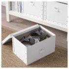 Контейнер для зберігання IKEA FJÄLLA 25x36x20 см білий 603.956.83 - зображення 7