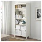 Контейнер для зберігання IKEA FJÄLLA 25x36x20 см білий 603.956.83 - зображення 9