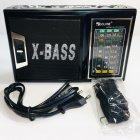 Радиоприёмник портативный со встроенным LED фонариком 18,5см Golon RX-177 Black - изображение 4
