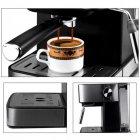 Кавоварка еспресо ріжкова напівавтоматична кавова машина DSP Espresso Coffee Maker KA-3028 850W - зображення 4