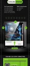 Корпус GameMax Brufen C3 BW - изображение 17