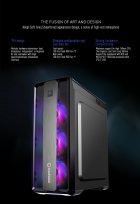 Корпус GameMax MoonLight FRGB Black - зображення 14