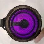 Беспроводная аккумуляторная колонка Bluetooth акустика FM MP3 AUX USB Cigii K2201+ Black - изображение 5