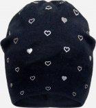 Демисезонная шапка David's Star 2126 52 см Черная (ROZ6400049530) - изображение 1