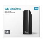 """Зовнішній жорсткий диск 3,5"""" 12TB WD Elements Desktop (WDBWLG0120HBK-EESN) USB 3.0 Black - зображення 5"""