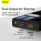 УМБ Baseus Super Mini 10000mAh 22.5 W 5A з технологією QC3.0+PD3.0 + Кабель USB to Type-C Чорний - зображення 13