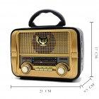 Радиоприёмник Retro MD-1903BT Kemai T-SH57710 - изображение 4