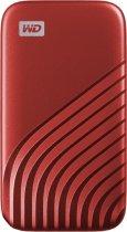 Western Digital My Passport 2TB USB 3.2 Type-C Red (WDBAGF0020BRD-WESN) External - зображення 1