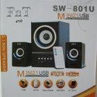 Колонки для комп'ютера SW 801U з сабвуфером Білі - зображення 3
