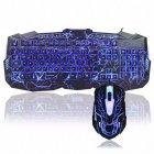 Стильна ігрова клавіатура Razer V-100 і мишка з підсвічуванням - зображення 1