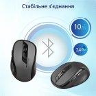 Миша Promate Clix-7 Wireless Black/Grey (clix-7.black) - зображення 6