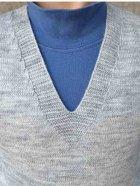 Жилет Прованс 13032 134-140 см Серый (4823093414327) - изображение 3