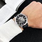 Наручные часы Forsining 8099 Black-Silver-Black мужские механические + подарочная коробка - изображение 5