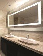 Зеркало Turister прямоугольное 90*50 см с передней LED подсветкой (ZPK9050) - изображение 2