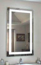Зеркало Turister прямоугольное 90*50 см с передней LED подсветкой (ZPK9050) - изображение 4