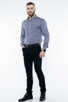 Рубашка в полоску Time of Style 511F054 XS Темно-синий/белый - изображение 2