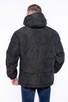 Куртка однотонная Time of Style 191P98854 L Темно-зеленый - изображение 5