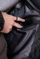 Куртка однотонная Time of Style 191P98854 XXL Темно-зеленый - изображение 7