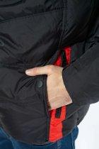 Куртка Time of Style 157P131104 46 Черно-красный - изображение 6