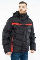 Куртка Time of Style 157P131104 50 Черно-красный - изображение 1