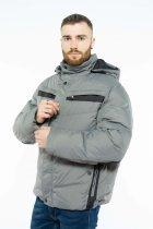 Куртка Time of Style 157P131104 52 Серо-черный - изображение 3