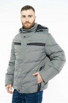 Куртка Time of Style 157P131104 52 Серо-черный - изображение 4