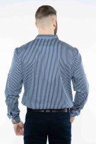 Рубашка в полоску Time of Style 511F054 XXXL Темно-синий/белый - изображение 5