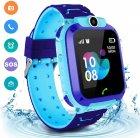 Годинникофон Edelin Дитячі смарт-годинник LBS Розумні годинник з вологозахист IP67 Blue - зображення 1