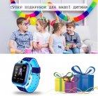 Годинникофон Edelin Дитячі смарт-годинник LBS Розумні годинник з вологозахист IP67 Blue - зображення 6