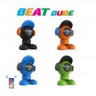 Портативная Bluetooth-колонка IDance Beat Dude 10W Зеленая (BD10GR) - зображення 3