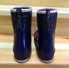 Резиновые сапоги Selena с утеплителем 41 25,7 см синие - изображение 5